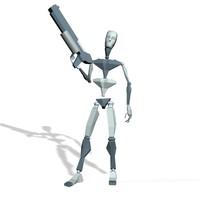 Commando smart pose 2