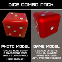 Dice Combo Pack