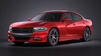Dodge Charger 2015 VRAY