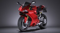 Ducati 1299 Panigale S 2016 VRAY