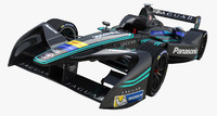 Formula E Panasonic jaguar Racing 2016