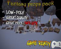 Fantasy Props Pack Asset