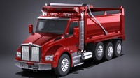 Kenworth T880 2017 Tipper Truck