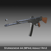 sturmgewehr 44 - german wwii 3ds