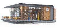 Coffee shop building