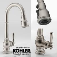 KOHLER Artifacts Bar Faucet- Brushed
