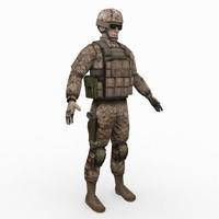 US Army Marine Desert