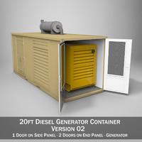 20ft Generator Container Version 2