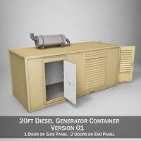20ft Generator Container Version1