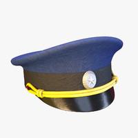 Russian aviator cap