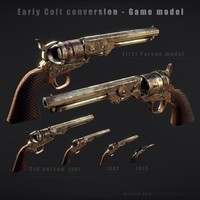 Colt Army Conversion