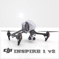 max drone inspire dji