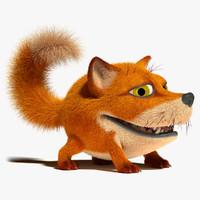 Fox (rigged)
