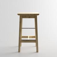 Ikea Bosse Stool