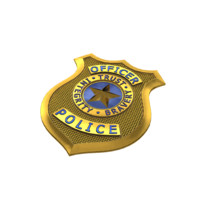 Officer Police bage