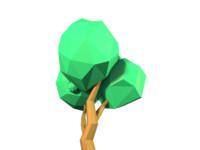 Low Poly Tree Model 04