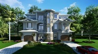 Classic Exterior Residential House