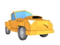 Low Poly Car Model 03