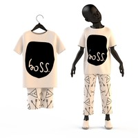 Child Baby girl T-shirt and pants
