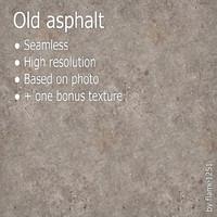 Old asphalt (+ bonus texture)