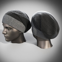 Men winter hat set
