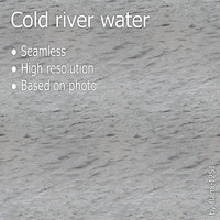 Cold river water
