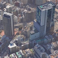 Tokyo Shibuya Lowpoly City Block