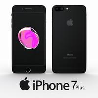 Apple Iphone Plus 7 Jet Black