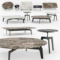 Poliform Tribeca coffee table set