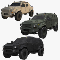 Gurkha Vehicles  Set