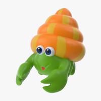 Bath Toy - Crab