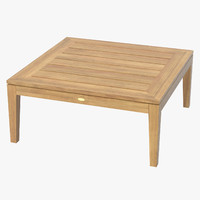 Patio Coffee Table (Square) 01