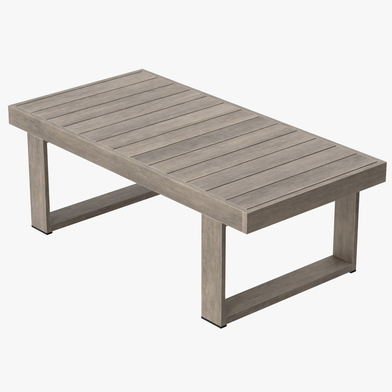 3d Max Patio Coffee Table