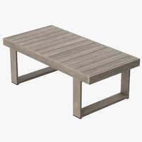 Patio Coffee Table (Square) 02