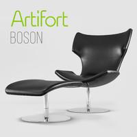 Boson armchair