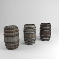 Barrels - Game Ready