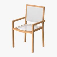 Patio Dinning Chair 01