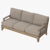 Patio Couch 03