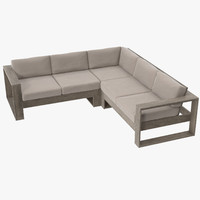 Patio Sectional  01