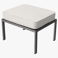 Outdoor Ottoman Square 02