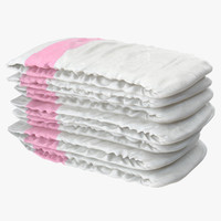 Diapers Pink