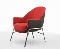 S 830 club chair by Thonet