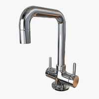 water tap 3d fbx