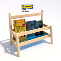 Ikea Flisat Book Display