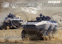 ONGUN Armored personnel carrier Design