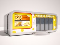 Cheese market shop