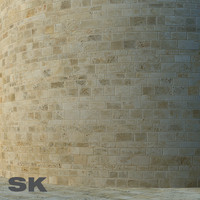 HQ Sandstone wall J