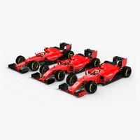 Generic Formula 1 Cars Pack
