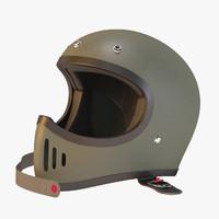 Blaster moto helmet
