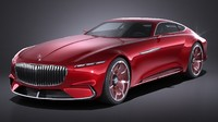 Mercedes Vision Maybach 6 Concept